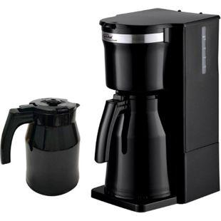 Elta Kaffeemaschine Duo-Therme mit 2 Thermoskannen 800 W Schwarz - Bild 1
