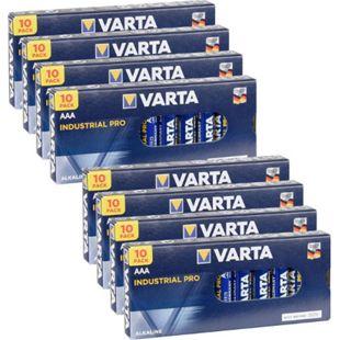 VARTA 80 Stück Batterien AAA Mikro Industrial Pro IND10 - Bild 1