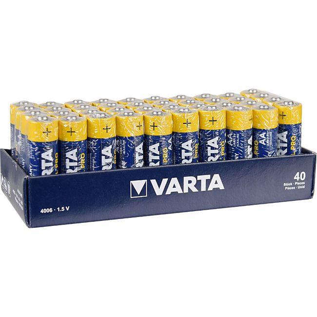 VARTA  Batterien AA 40 Stück Industrial Pro 4006 MIGNON - Bild 1
