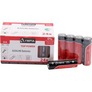 24 Stück Top Power Alkaline Batterien Typ AA - Bild 1