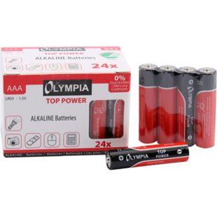 24 Stück Top Power Alkaline Batterien Typ AAA - Bild 1