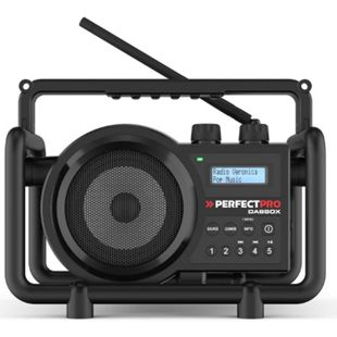 PerfectPro DABBOX Baustellenradio, DAB+, UKW, Bluetooth, staub- u. stoßfest - Bild 1
