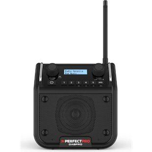 PerfectPro DABPRO Baustellenradio DAB+, UKW, Bluetooth, stoß- u. regenfest - Bild 1