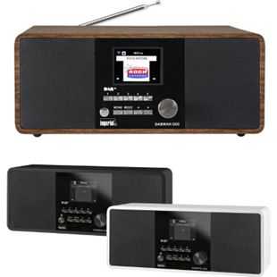Imperial DABMAN i200, WLAN Internetradio DAB+ UKW Radiowecker USB Fernbedienung Farbe: Weiß - Bild 1