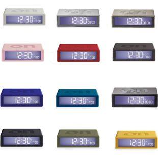 LEXON FLIP RCC LCD-Funk Wecker in verschiedenen Farben Farbe: Dunkelgrau - Bild 1