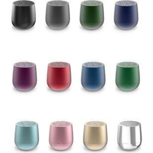 Lexon MINO Mini-Bluetooth-Lautsprecher TWS mit Freisprechanlage versch. Farben Farbe: Rot - Bild 1