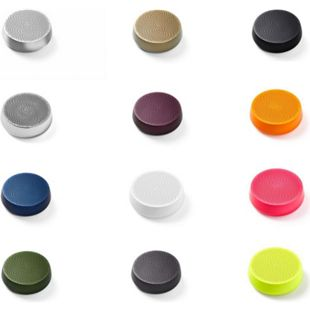 Lexon MINO L Mini-Bluetooth-Lautsprecher TWS mit Freisprechanlage versch. Farben Farbe: Dunkelgrün - Bild 1