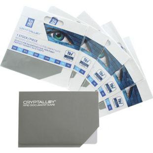 RFID-Schutzhülle für Kreditarten, Ausweise uvm. mit RFID-/ NFC- Ausleseschutz Größe: 1 - Bild 1