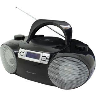 Soundmaster SCD8100SW DAB+ CD/MP3 Boombox, USB, SD, Bluetooth, schwarz - Bild 1