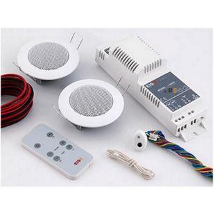 KBSound Einbauradio Basic für Küche und Bad mit Fernbedienung und Lautsprecher - Bild 1