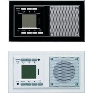 Peha Audiopoint RDS Einbauradio  mit MP3 Farbe: Weiß - Bild 1