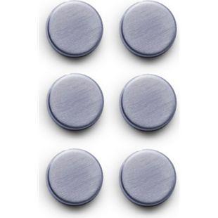 Zeller Magnet-Set, 6-tlg., extra stark, Edelstahl - Bild 1