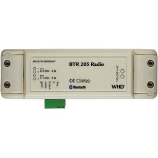 WHD BTR 205 Radio mit leistungsfähigem Bluetooth-Empfänger und Stereoverstärker - Bild 1