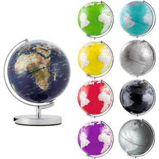EMFORM Globus TERRA LIGHT mit Beleuchtung, in versch. Farben Farbe: Rot - Bild 1