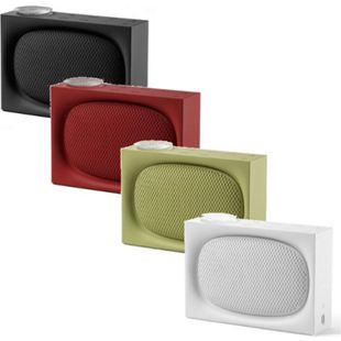 Lexon ONA, AM/FM Radio und wiederaufladbarer 4.0 BT-Lautsprecher, versch. Farben Farbe: Schwarz - Bild 1
