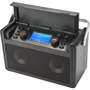Audisse Shirudo Internetradio, UKW/DAB+, WiFi, Bluetooth, tragbar, USB, AUX - Bild 1