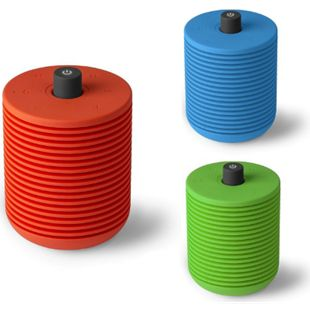 Lexon HIBI, wiederaufladbares FM Radio und Bluetooth-Speaker, versch Farben Farbe: Blau - Bild 1