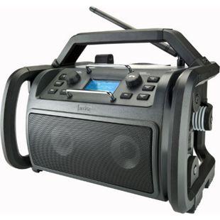 Audisse Shokunin WLAN Internet-Baustellenradio, DAB+/UKW, Bluetooth, USB, App - Bild 1