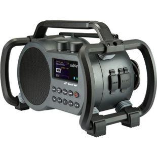 Audisse Netbox WLAN Internet Baustellenradio, DAB+/UKW, Bluetooth, USB, App - Bild 1