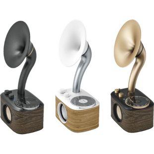 Sangean WR-45 Euphonic FM-Radio im Vintage-Design mit Bluetooth, versch. Farben Farbe: schwarz - Bild 1