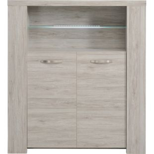 "Parisot Highboard ""Malone 26"" Portofino-Grey - Bild 1"