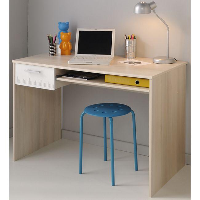 """Parisot Schreibtisch """"Charly 22"""" Akazie-Weiß - Bild 1"""