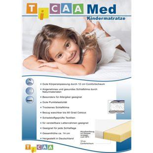 TiCAA Kindermatratze MedAllergen Comfort | Kinderzimmer > Textilien für Kinder > Kinderbettwäsche | TICAA