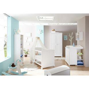 TiCAA Babyzimmer 5 teilig Adam Kiefer Weiß - Bild 1