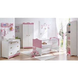 TiCAA Babyzimmer Prinzessin 5-teilig Rosa - Bild 1