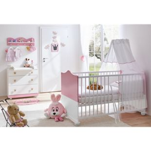 TiCAA Babyzimmer Prinzessin 3-teilig Rosa - Bild 1