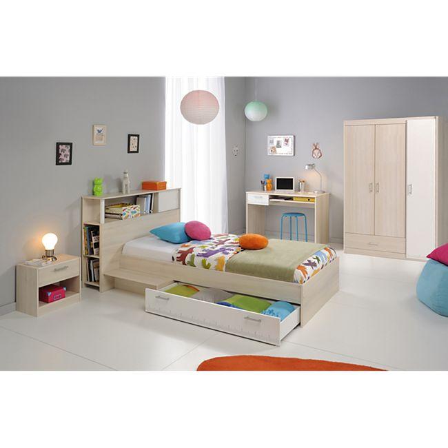 """Parisot Kinder- und Jugendzimmer 6-tlg. """"Charly 10"""" Akazie-Weiß - Bild 1"""