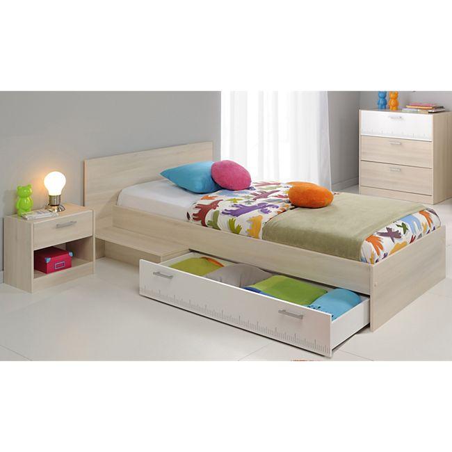 """Parisot Kinder- und Jugendzimmer 3-tlg. """"Charly 13"""" Akazie-Weiß - Bild 1"""