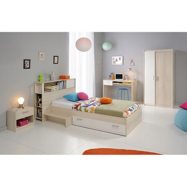 """Parisot Kinder- und Jugendzimmer 6-tlg. """"Charly 15"""" Akazie-Weiß - Bild 1"""