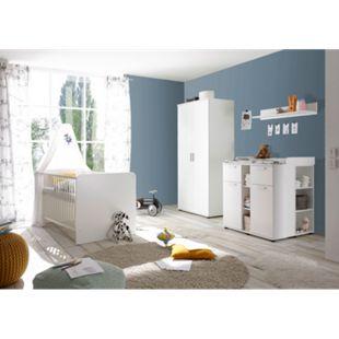 TiCAA Babyzimmer Lotta 4-teilig Weiß - Bild 1
