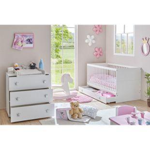 TiCAA Babyzimmer Paula 2-teilig Weiß - Bild 1