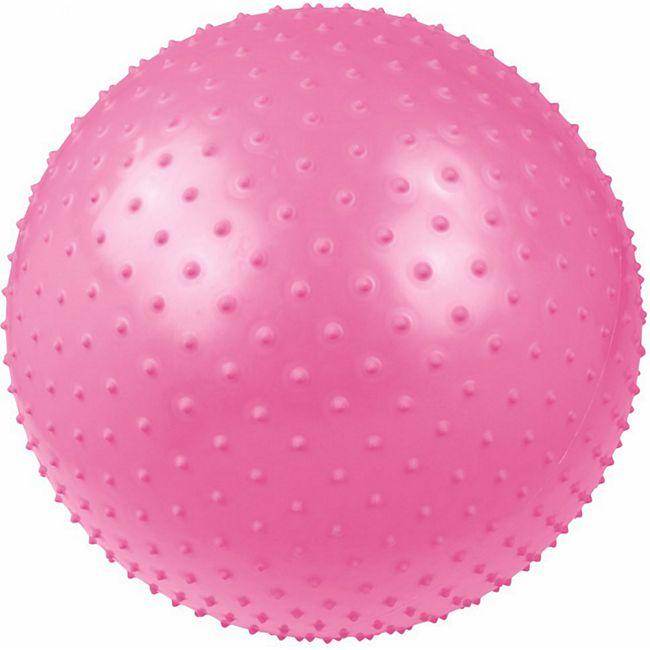 Carnegie Massageball Ø 55 Noppen-Ball Gymnastikball Fitnessball + Pumpe, geeignet für Selbstmassage - Bild 1