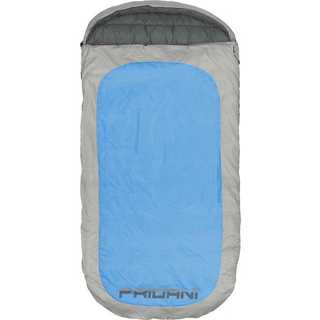 ästhetisches Aussehen diversifiziert in der Verpackung Vereinigte Staaten Fridani Schlafsack PB 220 x 110 cm XXL Deckenschlafsack Blau -18°C warm  wasserabweisend waschbar