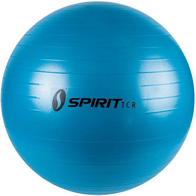 Spirit Gymnastikball Ø 55 Sitzball Fitnessball Yogaball Bürostuhl Ball + Pumpe - Bild 1