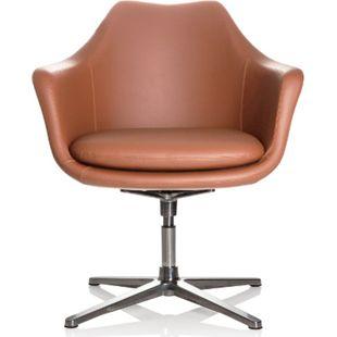 hjh OFFICE Loungesessel ARTEMIA mit Armlehnen - Bild 1