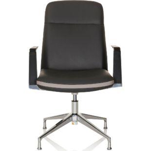 hjh OFFICE Besucherstuhl Konferenzstuhl ATMOS V mit Armlehnen - Bild 1
