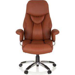 hjh OFFICE Luxus Chefsessel PRADO mit Armlehnen - Bild 1