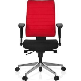 hjh OFFICE Profi Bürostuhl PRO-TEC 350 mit Armlehnen (höhenverstellbar) - Bild 1