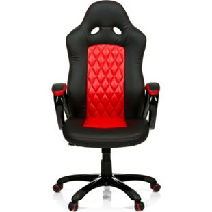 hjh OFFICE Chefsessel Racingchair RACER EXECUTIVE mit Armlehnen - Bild 1