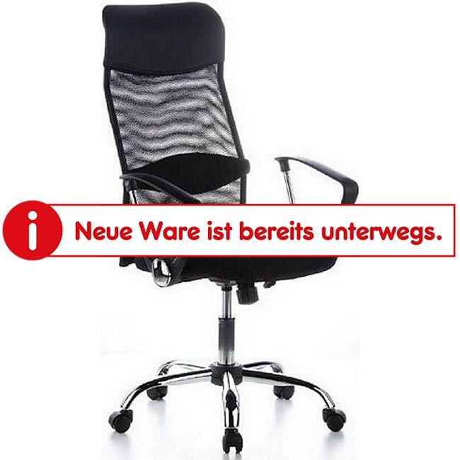hjh OFFICE Home Office Chefsessel PURE NET mit Armlehnen - Bild 1