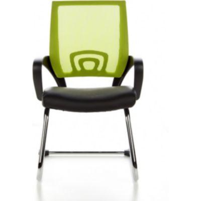 hjh OFFICE Besucherstuhl Konferenzstuhl VISTO NET V mit Armlehnen
