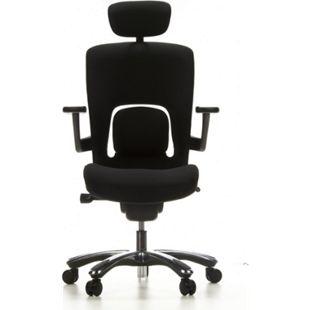 hjh OFFICE High End Bürostuhl VAPOR LUX mit Armlehnen (höhenverstellbar) - Bild 1