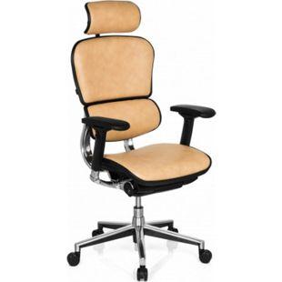 hjh OFFICE Luxus Chefsessel ERGOHUMAN mit Armlehnen (höhenverstellbar) - Bild 1