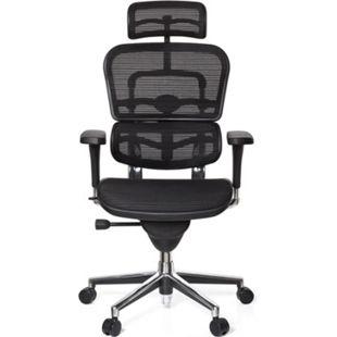 hjh OFFICE Luxus Chefsessel ERGOHUMAN BASE ONE mit Armlehnen (höhenverstellbar) - Bild 1