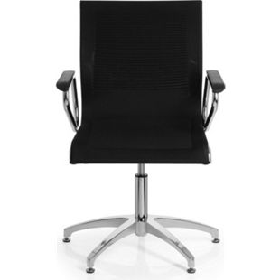 hjh OFFICE Besucherstuhl Konferenzstuhl ASTONA V mit Armlehnen - Bild 1