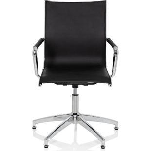 hjh OFFICE Besucherstuhl Konferenzstuhl PATMOS V mit Armlehnen - Bild 1